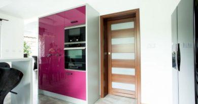 Interiérové dveře ze dřeva