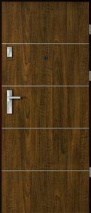 Kvalitní domovní dveře.
