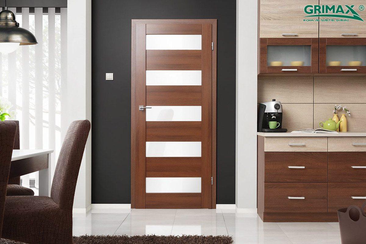 Dřevěné interiérové dveře