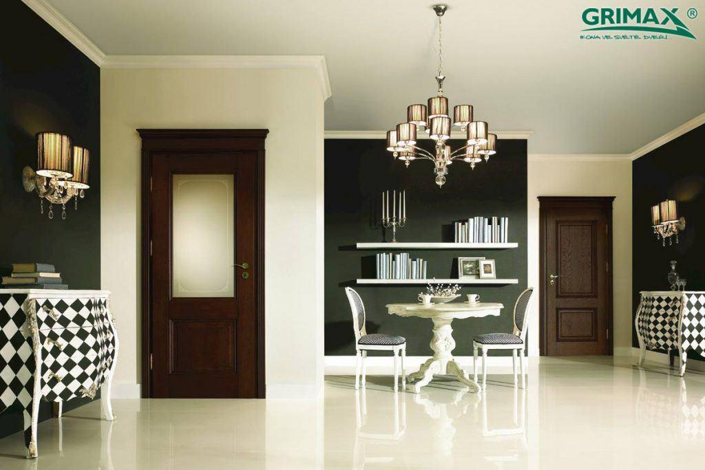 Prosklené interiérové dveře od firmy Grimax