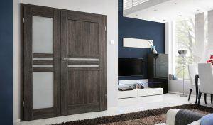 Dvoukřídlé interiérové dveře