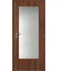 Interiérové dřevěné prosklené