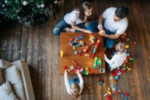 Obývák - místo pro setkání s rodinou.