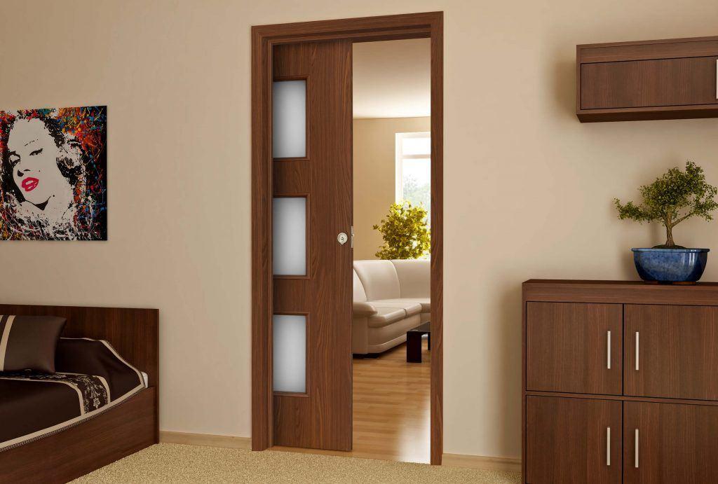 Posuvné dveře do malých prostor