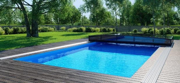 Bazén zapuštěný v zemi