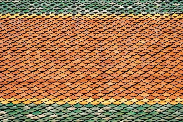 Desky na barevné střeše