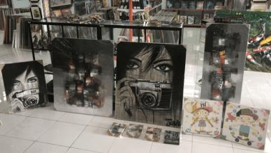 Obrazy na plátně z galerie na Bali