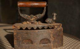 stará žehlička